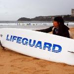 The newest lifeguard in Manly Beach