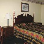Casey Jones Motel Bedroom View 1 - Oct 09