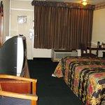 Casey Jones Motel Bedroom View 3 - Oct 09