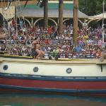 Espectáculo de Piratas