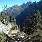 Views at Washington Pass, east of North Cascades Nat'l Park
