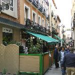 terraza en la calle