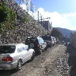 Esta calle es Iturbide, el hotel está al final, a la izquierda