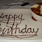 Birthday Bread Pudding