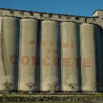 Concrete silos in Concrete, WA (where else!)