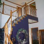 staircase in entry