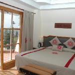 Dupleix cottage bedroom view