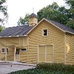 The Carriage House Interpretive Center on the grounds of the General Lew Wallace Study and Museu
