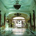 Gorgeous hotel lobby