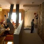 dining room at ilaia