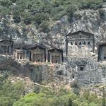 Lycian Rock Tombs Photo