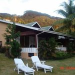 The Beau Vallon Bungalows where we stayed ....