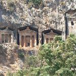Lycian Cliff Tombs near Mud Bath