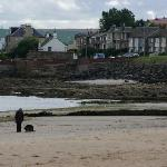 Joppa seashore nearby Aaran Lodge