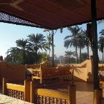 Restaurant sur la terrasse