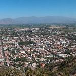 View of the town from Cerro de la Virgen
