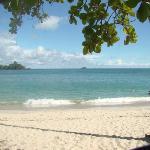 Maravillosa playa del Pacífico, en el parque Manuel Antonio.
