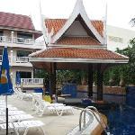 View of pool Kata Poolside Resort