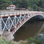 King's Bridge at the mouth of Cataract Gorge