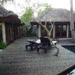 Villa chambre(droite) et living(gauche)