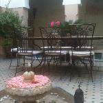 Courtyard Riad Anabel