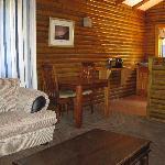 honeymoon suite - sitting area