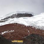 The glacier and refuge
