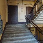 stair to B&B front door