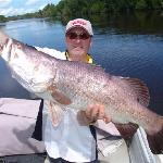 Clearwater Lodge Barramundi 106cm