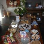 P.Gondwana: Buffet de desayuno (brunch)