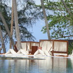 Nikki Beach Restaurant and ocean front pool