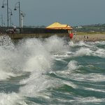 Waves at Tramore beach