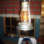 One of serveral oil lamps