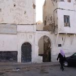 Entrance to tiny street, in the medina