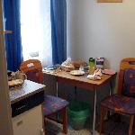 Kitchen area for double