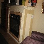 Fireplace - London Bridge Room