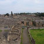 Pompeii Ruins near amphitheatre
