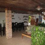 The lounge/kitchen area