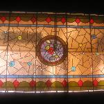 Stained Glass Window at the Inn