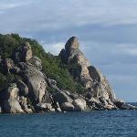 Buddha rock or Taa Toh Rock