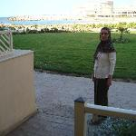 The Mediterranean Sea and my wife