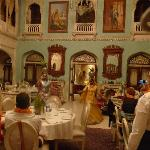 Entertainment in the Durbar Hall