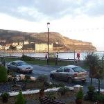 The promenade, Llandudno, from Can y Bae.