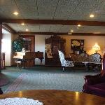 Lobby of the Best Western Greenfield Inn