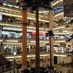 Centre commercial Citystars au pied de l'hôtel