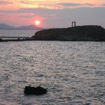 Sunset - this view a one minute walk from Hotel Grotta
