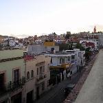 Vista de la calle desde la terraza