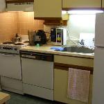 Kitchen (one side)