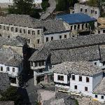 Gjirokaster traditional hilltown