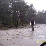 no es tan malo el carretero, a pesar de la lluvia